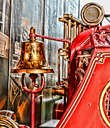 Fireman - The Fire Bell Print by Paul Ward