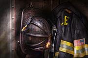 Mike Savad - Fireman - Worn and used