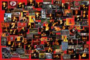 Coller Posters - Firemen Series Collage Poster by Thomas Woolworth