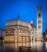 Florence Framed Prints - Firenze Duomo Framed Print by Inge Johnsson