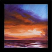 Firesun Sky Print by James Christopher Hill