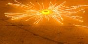 Firework Wheel Print by Image World