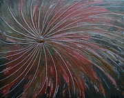Fireworks Paintings - Fireworks 2 by Evelyn SPATZ