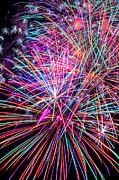 Fireworks 2011 Series 6 Print by Chris Tobias