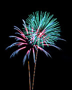 Fireworks Print by Darrin Doss