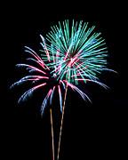 Fireworks Print by Darrin Doss