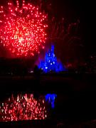Orlando Magic Photos - Fireworks Disney Style by Greg Fortier