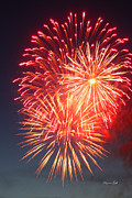 Fireworks Series II Print by Suzanne Gaff