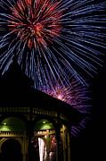 Fireworks Print by Steve Myrick