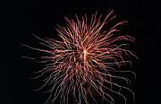 Fireworks Twenty Eleven Vi Print by Daniel Henning