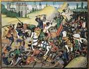 Miniatures Art - First Crusade. Conquest Of Antiochia by Everett