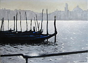 Gondolier Originals - First light Dorsoduro by Martin Davis