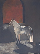 Stable Painting Originals - First Light by Peggy Judy