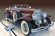 1929 Roadster Prints - First Model J Print by Bill Dutting