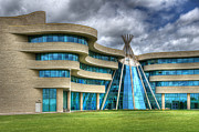 First Nations Prints - First Nations University Of Canada Print by Bob Christopher