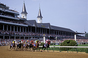 Kentucky Derby Metal Prints - First Saturday in May - FS000544 Metal Print by Daniel Dempster