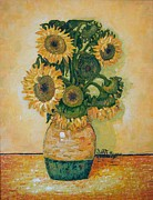 J Harris - First Sunflowers For...