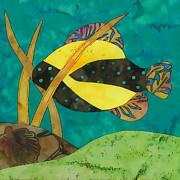 Batik Digital Art Posters - Fish #2 Poster by Staci and Bill McLauchlan