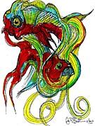 Jon Baldwin  Art - Fish