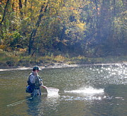 Heber Springs Photos - Fish On 002 by Phil Rispin