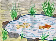 Catherine Kirby - Fish Pond