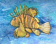 Graphics Paintings - Fish-Zebra by Khromykh Natalia