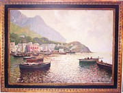 Guido Ordierna - Fisherman on Capri Bay