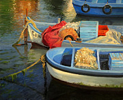 European Artwork Painting Prints - Fishermans Etude Print by Kiril Stanchev