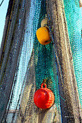 Netting Photos - Fishermans Tools by Dick Botkin