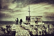 Outside Pictures Prints - Fishermen Print by Marco Oliveira