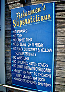 Fishermen's Superstitions Print by Mark Miller
