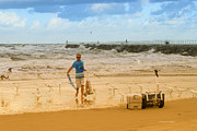 Deborah Benoit - Fishing at the Beach