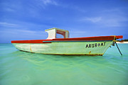 Pleasure Photos - Fishing Boat Aruboat of Aruba by David Letts