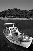 Fishing Photos - Fishing boat in Asos village by George Atsametakis