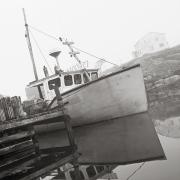 Industrial Concept Posters - Fishing Boat, Peggys Cove, Nova Scotia Poster by Jeff Kirk Photography