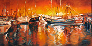 Marcia Baldwin - Fishing Boats at Dusk