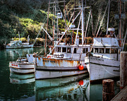 William Havle - Fishing Boats in Fort Bragg