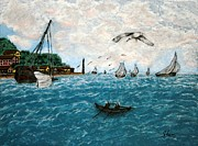 Irving Starr - Fishing Boats in France