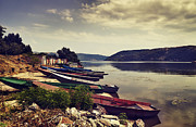 Fishing Boats  Print by Jelena Jovanovic