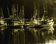 Joe Klune Metal Prints - Fishing boats Metal Print by Joe Klune