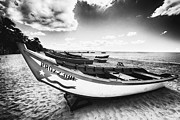 Aguadilla Prints - Fishing Boats on the Shore Print by George Oze