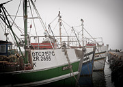 Tom Hudson Art - Fishing Boats by Tom Hudson