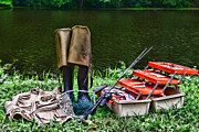 Net Photos - Fishing - Fishing Tackle by Paul Ward