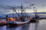 Fishing Creek Posters - Fishing Fleet Poster by Randy Hall