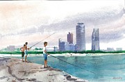 Irina Alexandrina - Fishing in Florida