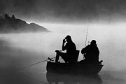 Gregory McKelvey - Fishing in the Mist
