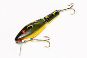 Minnow Pattern Prints - Fishing Lure 6 B Print by John Brueske