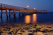 Dan Carmichael - Fishing Pier at Night -...