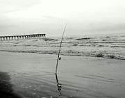Mark Head - Fishing Pole at the Beach