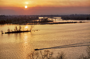Jason Politte Prints - Fishing the Arkansas River Print by Jason Politte